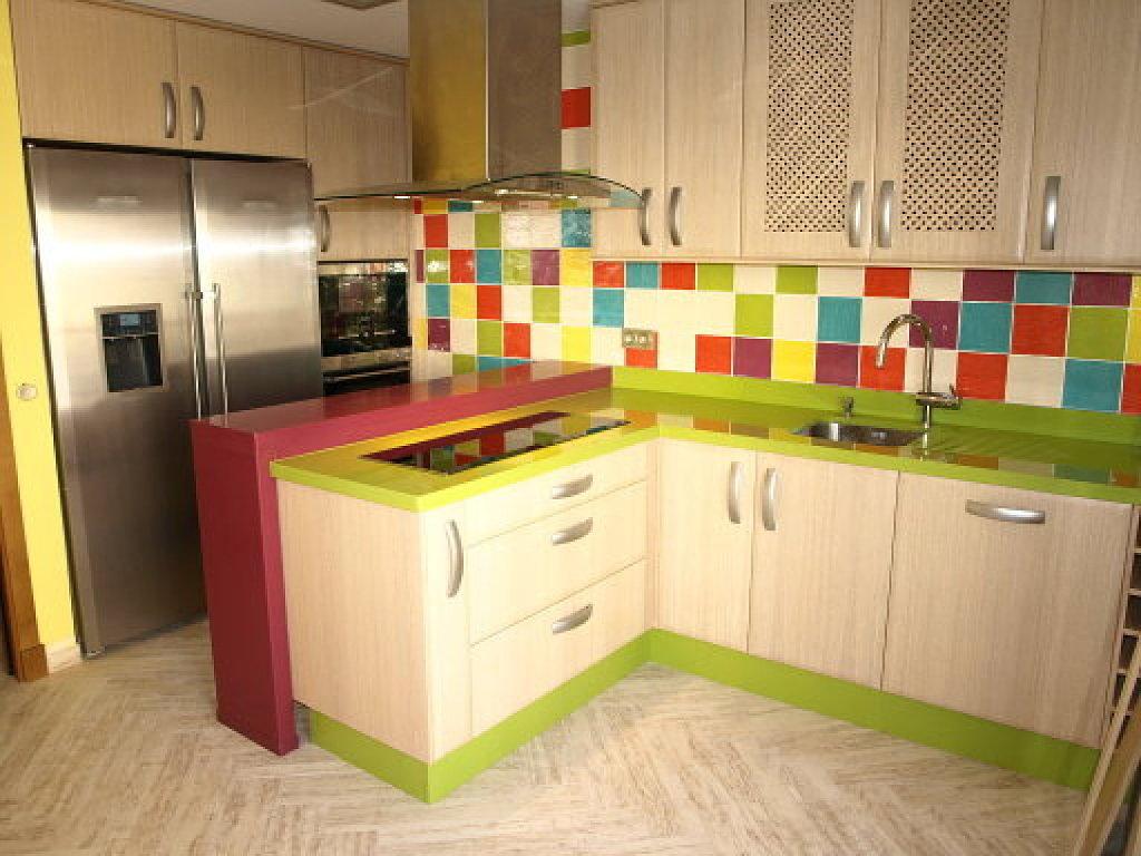 Como decorar el frente de las cocinas que me pongo for Baldosas cocina